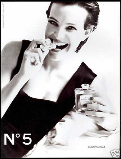 Chanel No 5 Perfume Bottle Claudia Mason Photo (1994)
