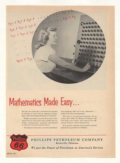 Phillips 66 Petroleum Spectro Computer (1952)