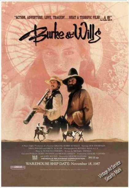 Burke & Wills Movie Promo (1987)