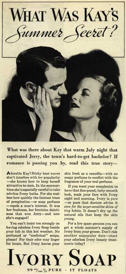 Procter & Gamble Co.'s Ivory Soap – What Was Kay's Summer Secret? (1934)