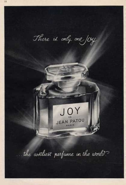Joy Jean Patou the Costliest Perfume (1965)