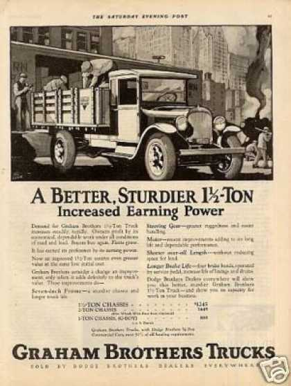 Graham Brothers 1 1/2 Ton Truck (1926)