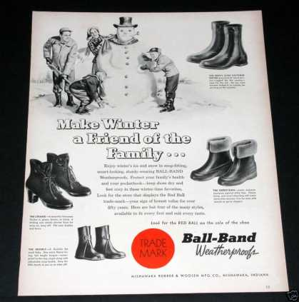 Old , Ball-band Shoes, Snowman (1949)
