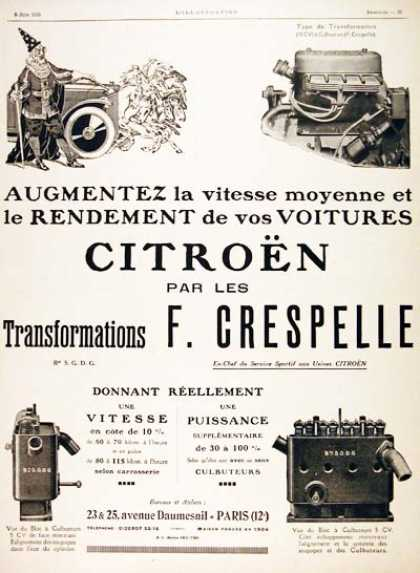 Citroën Engine Tuning (1926)