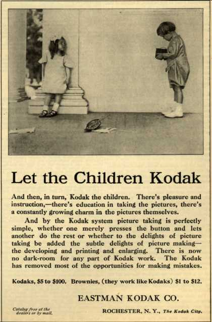 Kodak – Let the Children Kodak (1908)