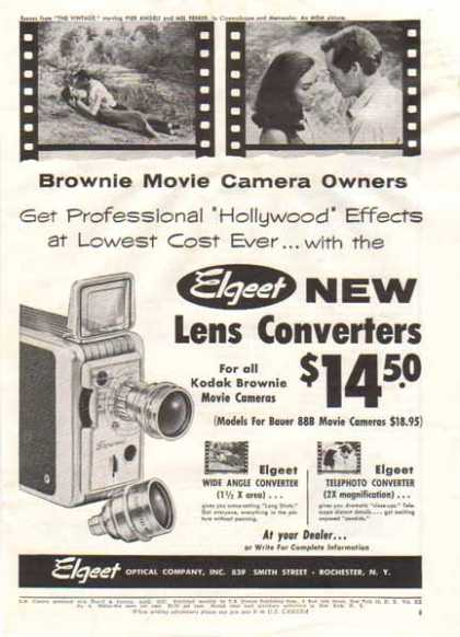 Elgeet Camera – Brownie Movie Camera (1957)