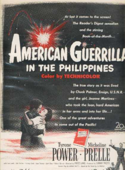American Guerrilla in the Philippines (1950)