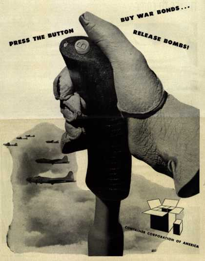 Container Corporation of America's War Bonds – Press The Button (1943)