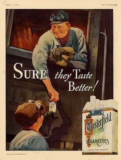 Chesterfield Cigarettes (1933)