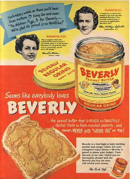Beverly's Peanut Butter (1949)