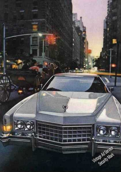 Cadillac Eldorado Photo Collectible Car (1973)