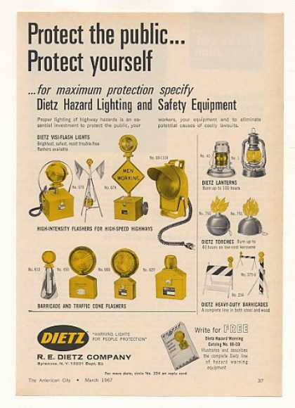 Dietz Highway Hazard Lighting Flashers (1967)