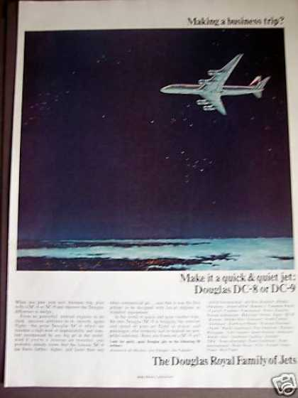 Douglas Dc-8 Dc-9 Jets Night Flight (1966)