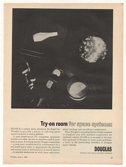 Douglas OLAFS Space Simulator (1965)