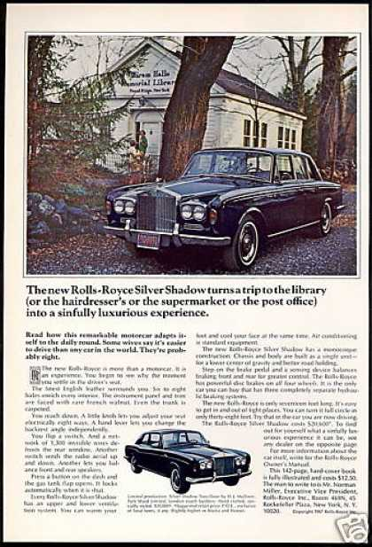 Rolls Royce Silver Shadow Car 2dr & 4dr Photo (1967)