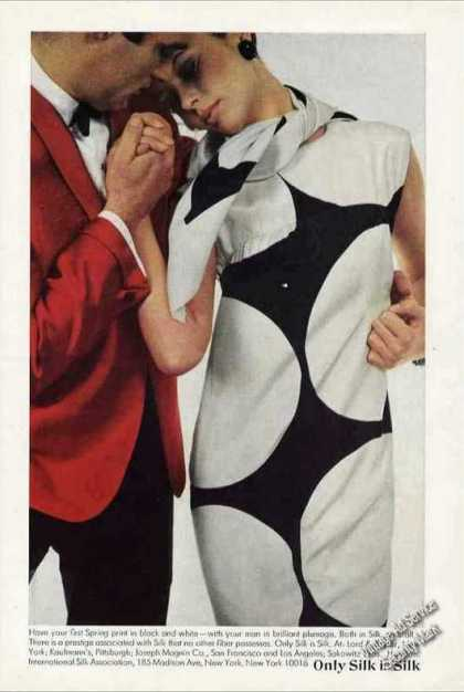"""Only Silk Is Silk"" Impressive Fashion (1966)"