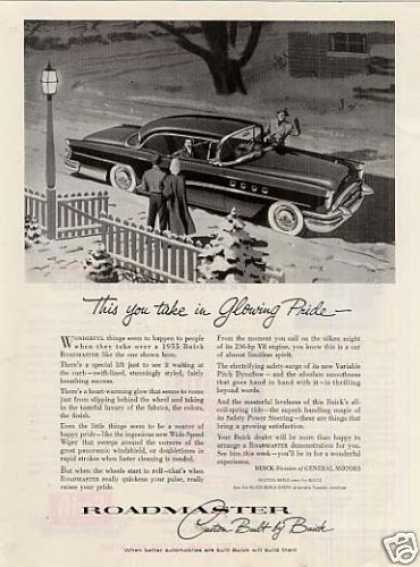 "Buick Roadmaster Car Ad ""This You Take... (1955)"