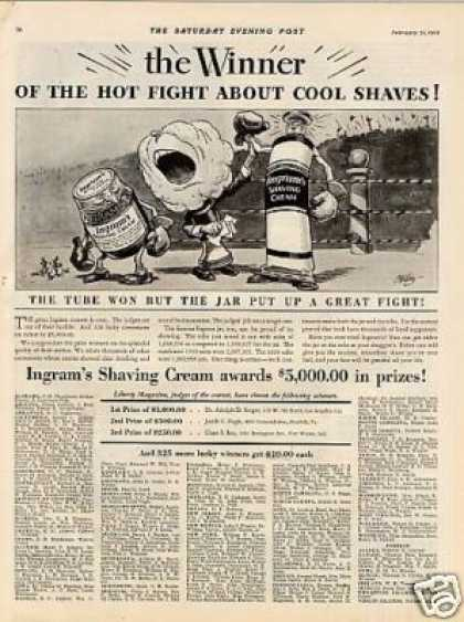 Ingram's Shaving Cream (1931)