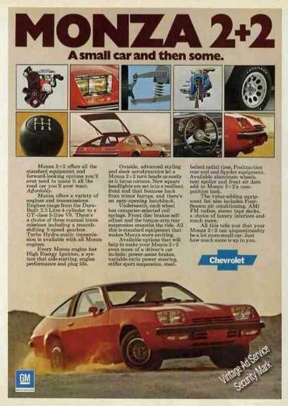 Chevrolet Monza 2+2 Small and Then Some (1976)