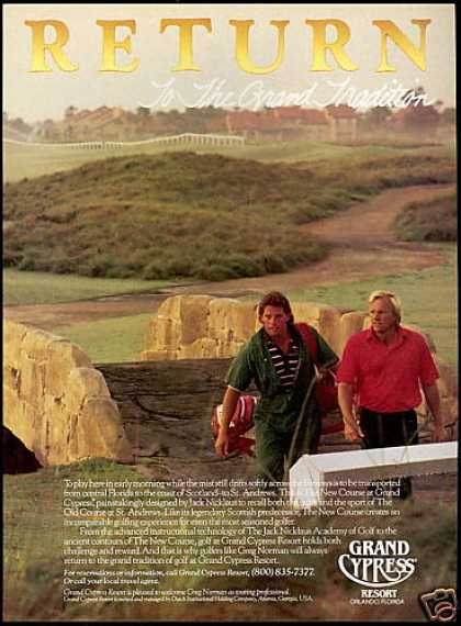 Greg Norman Grand Cypress Resort Golf Course (1988)