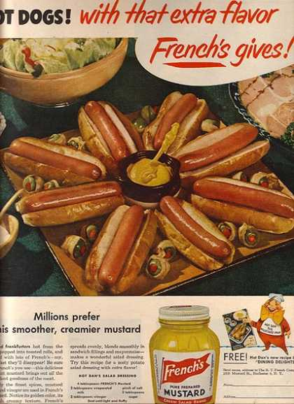 French's Pure Prepared Mustard (1950)