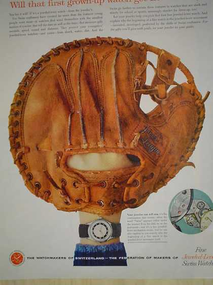 The watchmakers of Switzerland Baseball theme (1958)