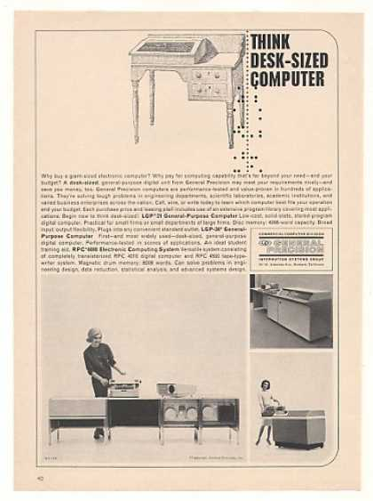 General Precision LGP-21 30 RPC-4000 Computer (1963)