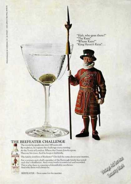 The Beefeater Challenge King Henry's Keys (1970)