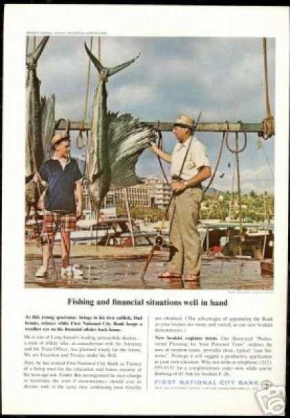 Sailfish Fishing Acapulco 1st National Bank (1966)