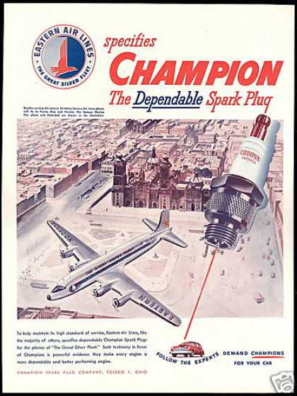 Eastern Airlines Mexico City Cathedral Champion (1946)