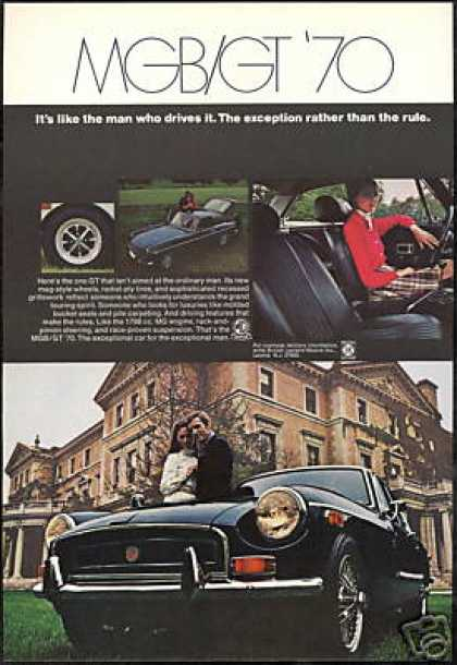 MG MGB GT 4 Photo Views Vintage (1970)