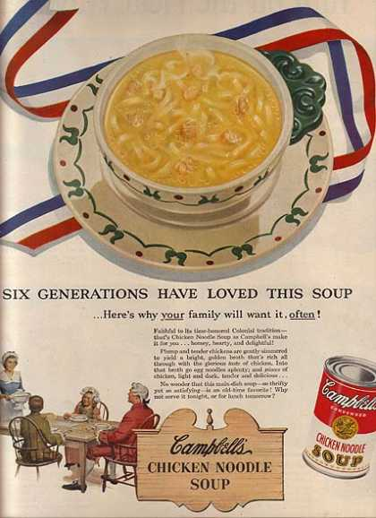 Campbell's Chicken Noodle Soup (1951)