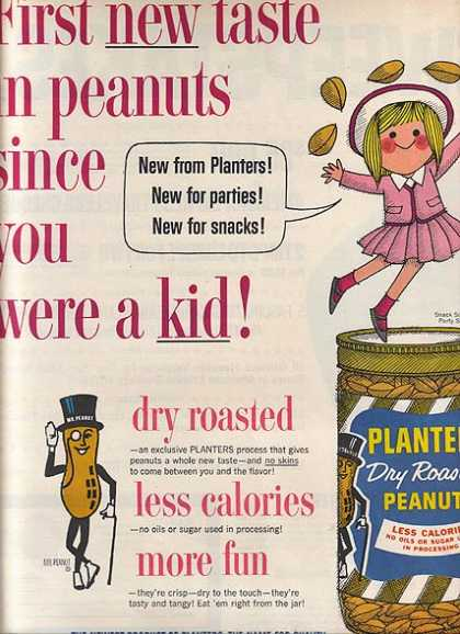 Planter's Dry Roasted Peanuts (1962)