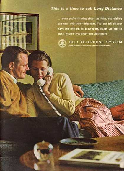 "Bell's ""This is a time to call Long Distance"" (1963)"