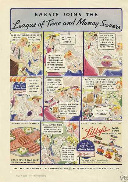 Libbys Meat Delicacies In a Can Cartoon (1935)