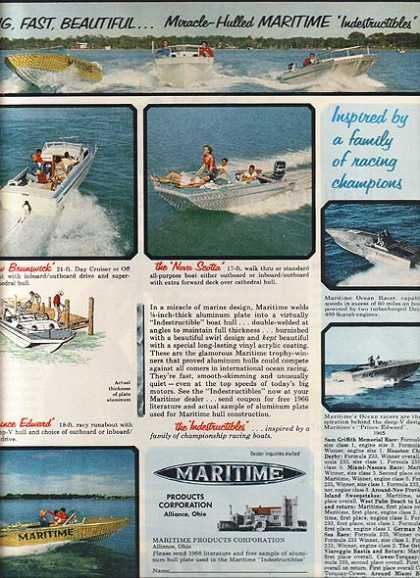Maritime's Miracle-Hulled Indestructible Boats (1966)