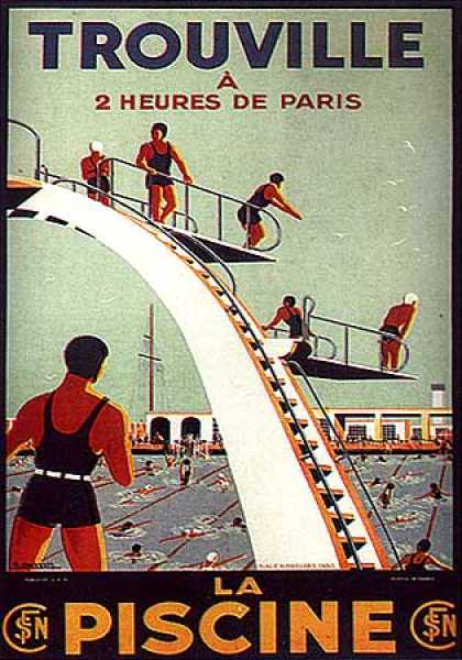 La Piscine by A. Molusson (1930)