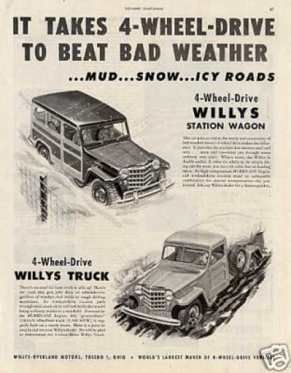 Willys Station Wagon & Truck (1952)