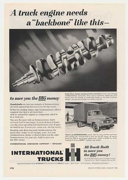 IH International Harvester Truck Crankshaft (1955)