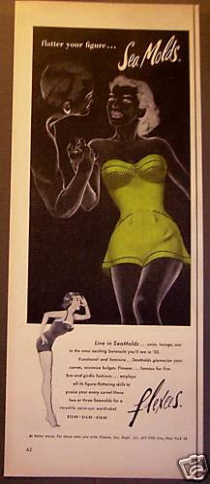 Original Flexes Seamold Swimsuits (1953)