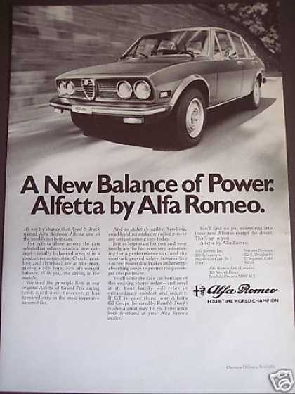 Alfa Romeo Alfetta Car Photo (1976)