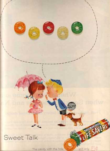"Lifesaver's ""Sweet Talk"" (1961)"