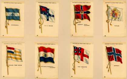 [American Tobacco Co.]'s [Sovereign Cigarettes] – World Flags – Image 2