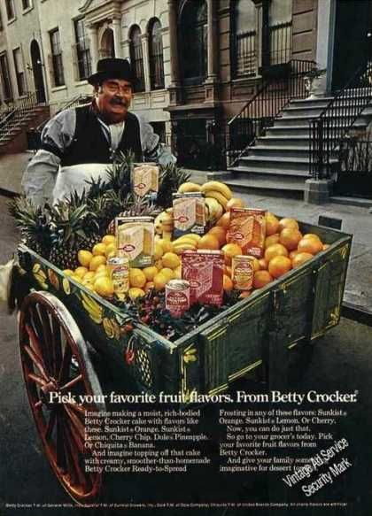 Fruit Peddler Cart By New York Brownstones (1971)