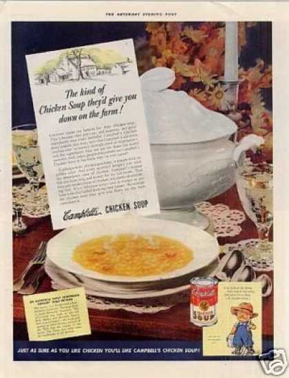 Campbell's Chicken Soup (1942)
