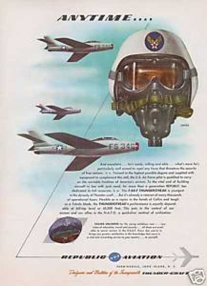 Republic Aviation Gas Mask Airplane (1954)