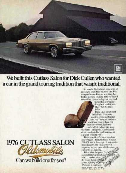 Oldsmobile Cutlass Salon for Dick Cullen Car (1976)