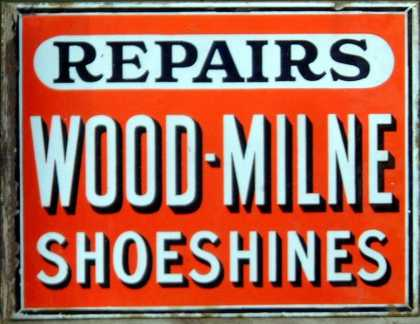 Wood-Milne Rubber Heels & Shoeshines