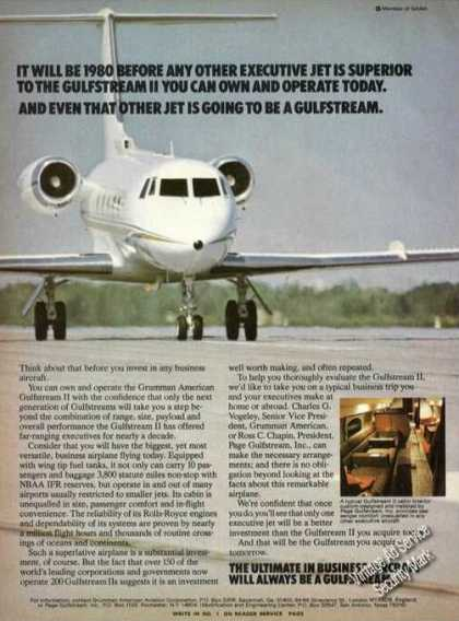 Gulfstream Ii Business Aircraft (1977)