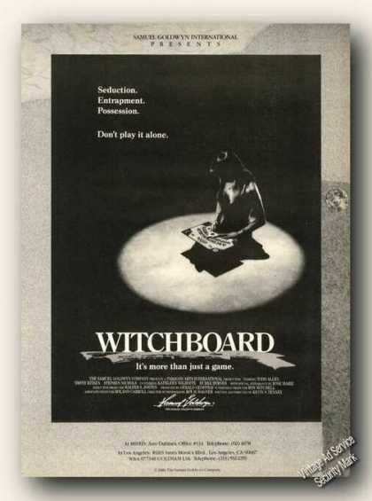 Witchboard Movie Rare (1986)